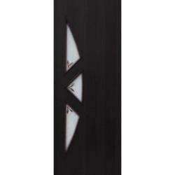 Полотно дверное ЛР-15-600 венге с фьюзингом
