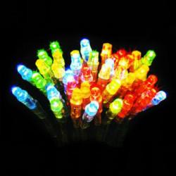 Электрогирлянда 100 цветных LED ламп 10м LD100C-GM