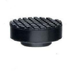 Опора резиновая для подкатного домкрата, d-65мм/37мм, h-27мм, MATRIX 50905