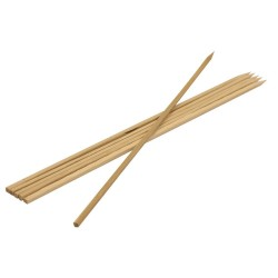 Шампуры бамбуковые 40*0,6*0,6см, КВАДРАТНЫЕ/6шт/BOYSCOUT 61066