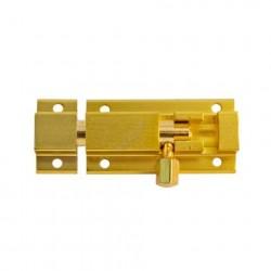 Шпингалет NORA-M 501-50 золото