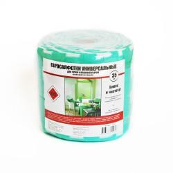 Салфетки для уборки 35шт ЕВРО в рулоне 51262
