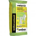 Штукатурка цементная универсальная Weber.Vetonit TT40 25кг