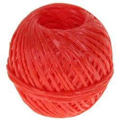 Шпагат полипропилен плотн. 1200текс красный 50 кгс (110м)