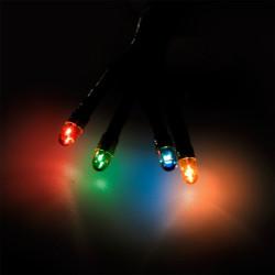 Электрогирлянда НОВОГОДНЯЯ 3м, 50 разноцветных микроламп 66390