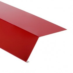 Планка карнизная 100*65 RAL 3005 красн.