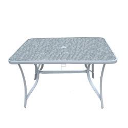 Стол Тренто 1 1,05*1,05*0,7 стекло 5мм
