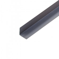 Угол ПВХ 25*25мм 2,7м серый/Д/