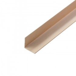 Угол ПВХ 30*30мм 2,7м слоновая кость /Д/