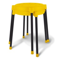 Табурет Sheffilton SHT-S36 желтый /черный