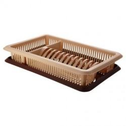 Сушилка для посуды с поддоном ЛИЛИЯ 1-а ярусная ПЦ1563