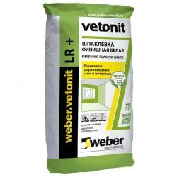 Шпаклевка полимерная финишная белая Weber.Vetonit LR+ 25кг