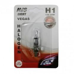 Лампа галогенная AVS Vegas H1.12V.55W 1шт A78479S