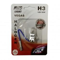 Лампа галогенная AVS Vegas H3.12V.55W 1шт A78481S