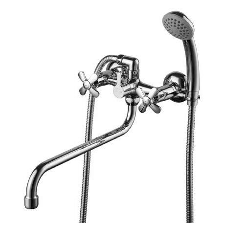 смеситель для ванны lemark lm6541c излив 300мм смеситель palermo для ванны излив 300мм
