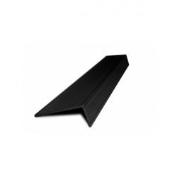 L-профиль алюминий Венге 3 метра