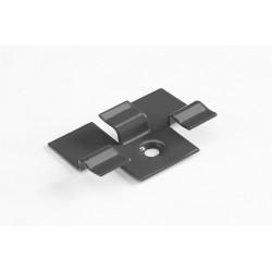 Kляймер для терр. доски метал УПАКОВКА (50 штук) Серый дым