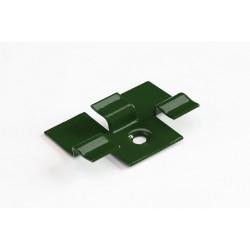Kляймер для терр. доски метал УПАКОВКА (50 штук) Зеленый