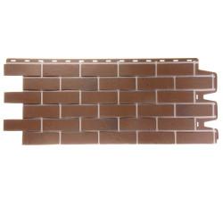 Панель фасадная 1,127*0,461м Docke Berg коричневый