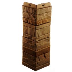 Угол наружный к фасадной панели Docke 0,426м Stein янтарный