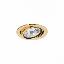 Светильник Montana 51104 MR16 золото поворотный под галогенную лампу