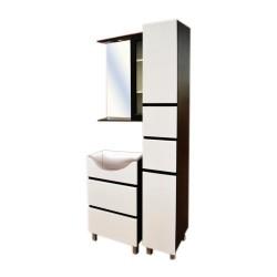 Комплект мебели 60см IKA Бостон венге без умывальника