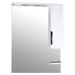 Зеркало-шкаф 70см Мессина с подсветкой
