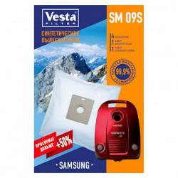 Комплект пылесборников 4шт+2фильтра Vesta filter SM 09 S
