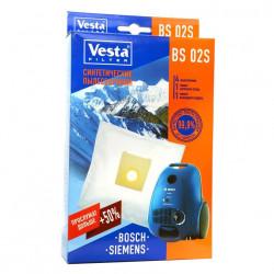 Комплект пылесборников 4шт+2фильтра Vesta filter BS 02 S