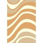 Дорожка ковр. Shaggy Ultra ш.1,0м s607 бежевый