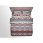 Комплект постельного белья 2-спальный ZigZag фиолетовый (микрофибра)