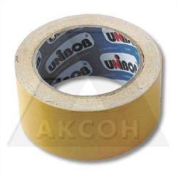 Лента двухсторонняя тканевая 50мм*10м UNIBOB