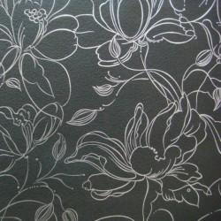 Обои 80109 Marburg Color флизелин 1,06*10,05м цветы, черный