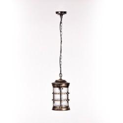Светильник подвесной Barselona 81205 черный с золотом E27 100Вт