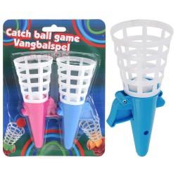Набор игровой Поймай мяч /ловушка 2шт, мяч 2шт/ S34890190