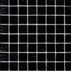 Мозайка стеклянная Black Rose(2,5*2,5) 30*30