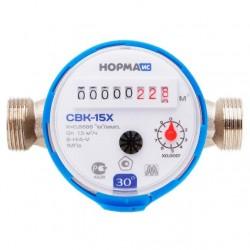 Счетчик воды СВКМ 15 Х 110мм, с комплектом присоединения /Норма/