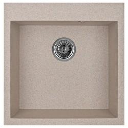 Мойка гранитная Granula 505*505 GR-5102 классик