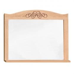 Зеркало навесное ADELE11 спальня Дуб Сонома-Орех шоколадный (0,798*0,116(0,032)*0,589(0,673)