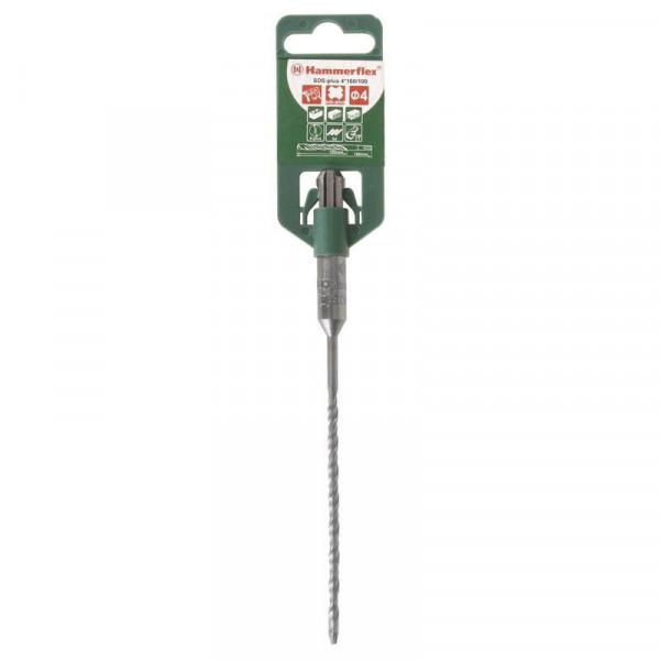 бур по бетону sds+ 4,0*160мм hammer flex 201-104