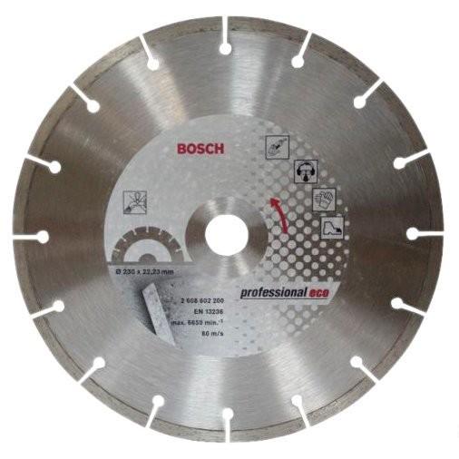 Фото - круг алмазный d230 бетон bpe bosch 2608602200 bosch pib651n14e