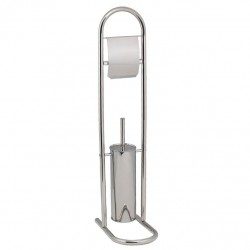 Гарнитур для туалета с держателем для туалетной бумаги /металл/ P833