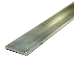 Полоса алюминиевая 20*2,0 1,0м