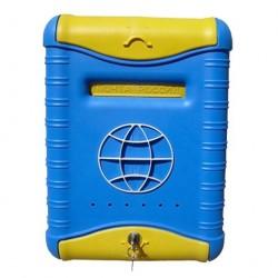 Ящик почтовый ГЛОБУС пластиковый с замком 8331