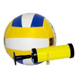 Мяч волейбольный и насос №5, 3 цвет ПВХ 998104