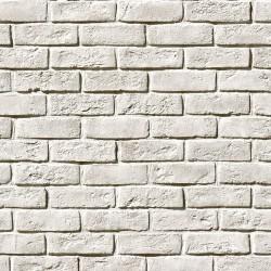 Камень искусственный декоративный Кельн Брик 320-00 Белый (1,63кв.м)
