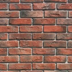 Камень искусственный декоративный Лондон Брик 300-70 красный (1,16кв.м)