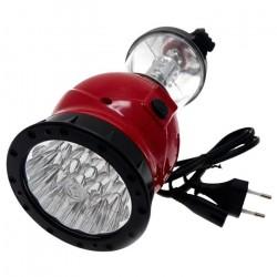 Фонарь Camelion LED 29318 19/24LED аккумулятор. красный CAMPING