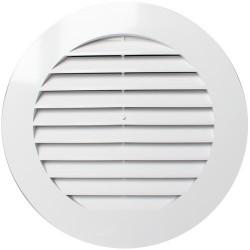 10РКН  Решетка вентиляционная пластмас. круглая D130
