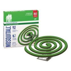 Спирали MOSQUITALL Защита для взрослых от комаров 10шт
